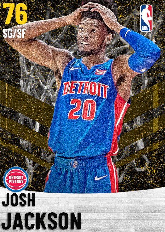 76 Josh Jackson   Detroit Pistons
