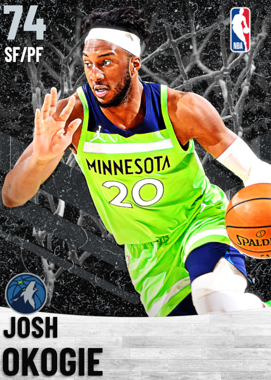 74 Josh Okogie   Minnesota Timberwolves