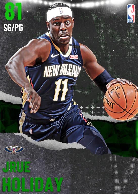 NBA 2K21 | 2KDB EMER Jrue Holiday (81) Complete Stats