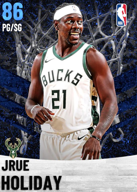 86 Jrue Holiday   Milwaukee Bucks