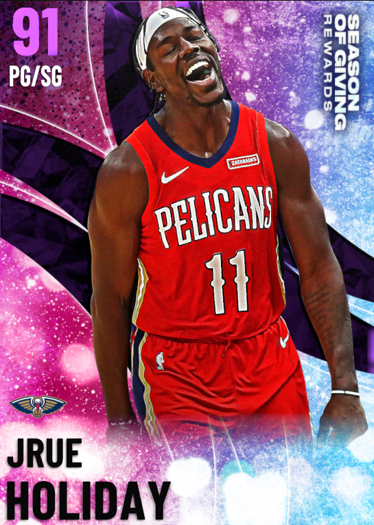 91 Jrue Holiday | undefined