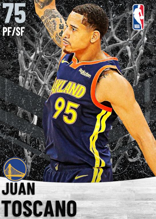 75 Juan Toscano   Golden State Warriors
