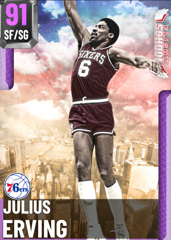 91 Julius Erving | undefined
