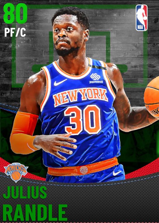 80 Julius Randle | New York Knicks