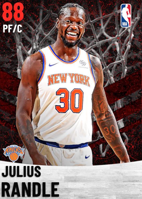 88 Julius Randle   New York Knicks