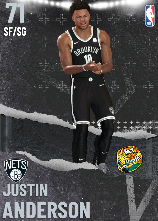 71 Justin Anderson | undefined