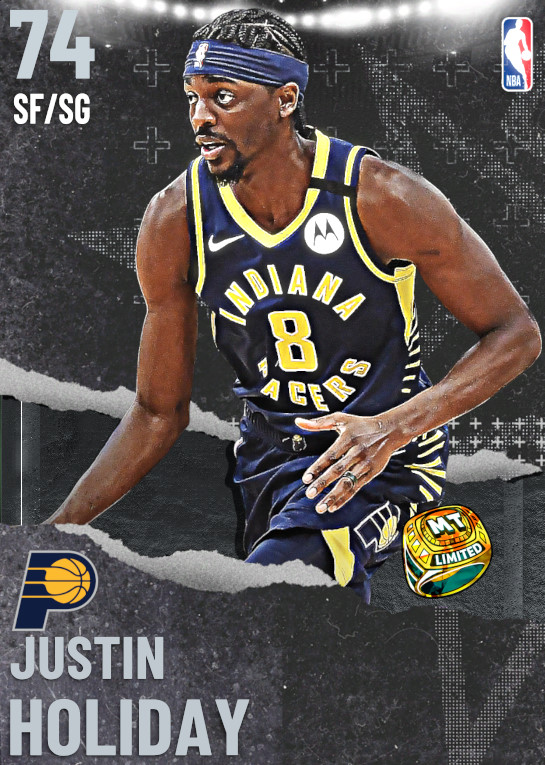 74 Justin Holiday | undefined