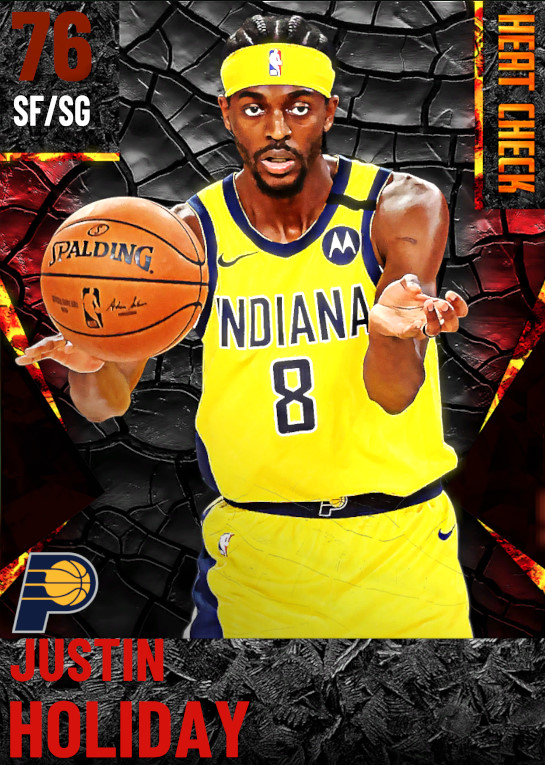 76 Justin Holiday | Indiana Pacers