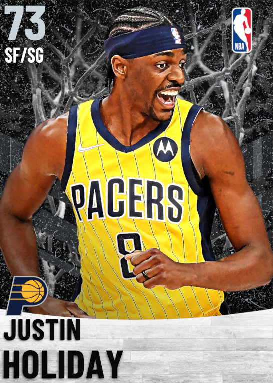 73 Justin Holiday   Indiana Pacers