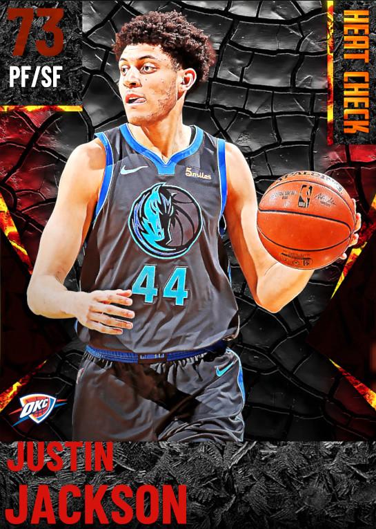 73 Justin Jackson | Oklahoma City Thunder