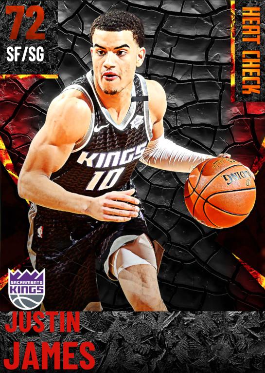 72 Justin James | Sacramento Kings