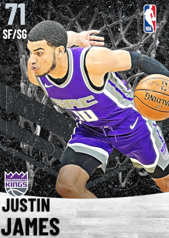 71 Justin James   Sacramento Kings
