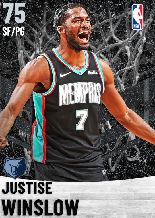 75 Justise Winslow   Memphis Grizzlies