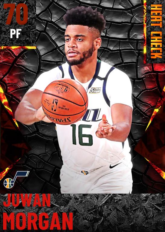 70 Juwan Morgan | Utah Jazz