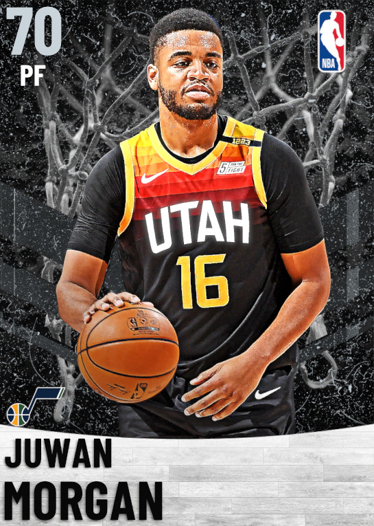 70 Juwan Morgan   Utah Jazz