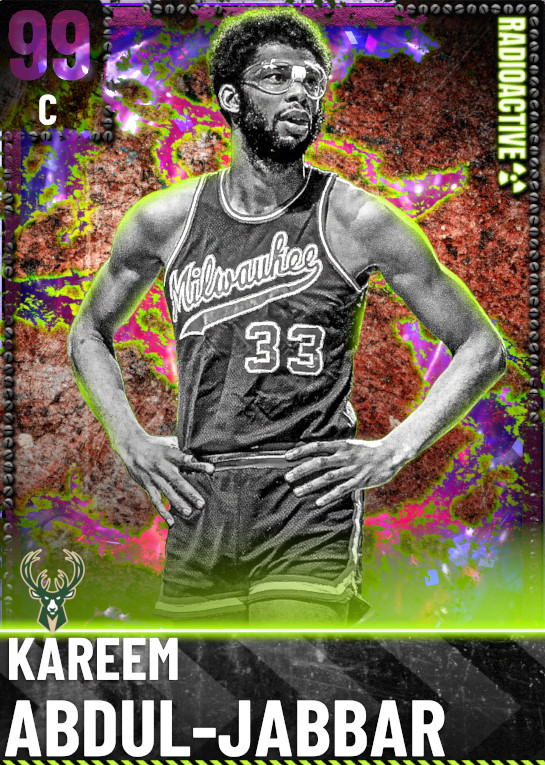 99 Kareem Abdul-Jabbar | Radioactive
