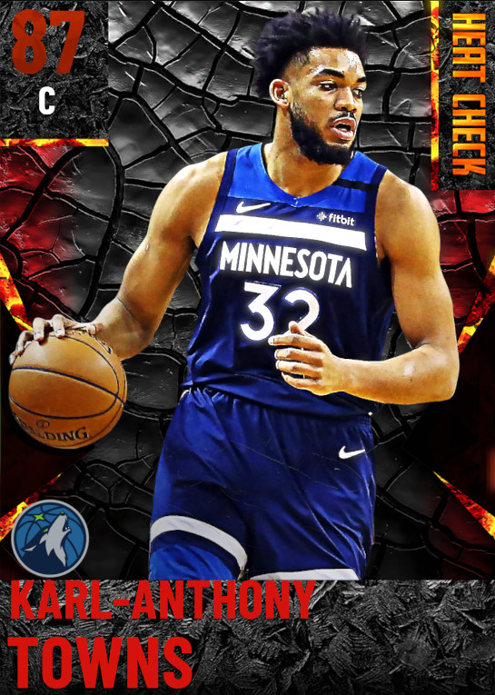 87 Karl-Anthony Towns | Minnesota Timberwolves