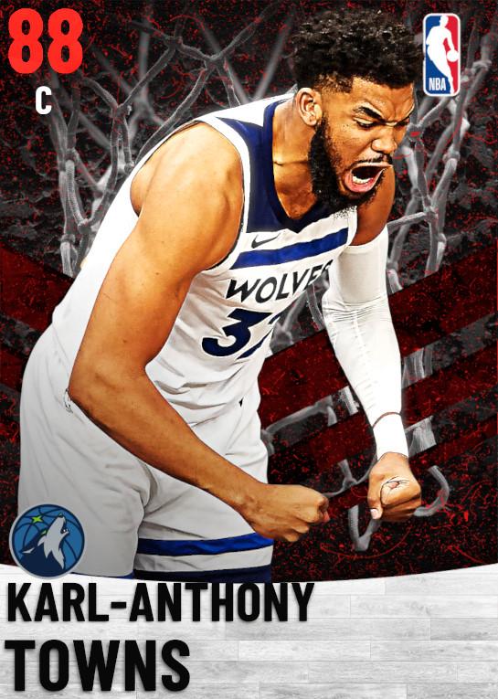 88 Karl-Anthony Towns   Minnesota Timberwolves