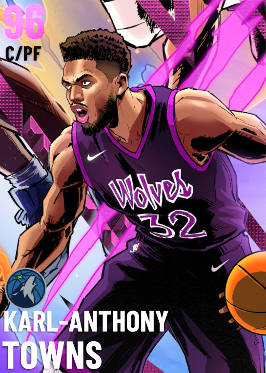96 Karl-Anthony Towns   Modern Age