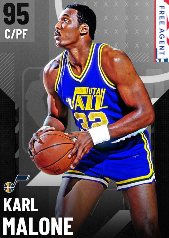 95 Karl Malone   undefined