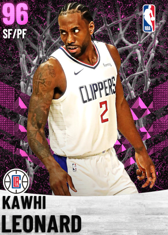 96 Kawhi Leonard   Los Angeles Clippers