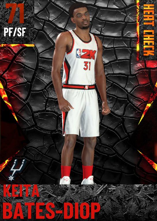 71 Keita Bates-Diop | San Antonio Spurs