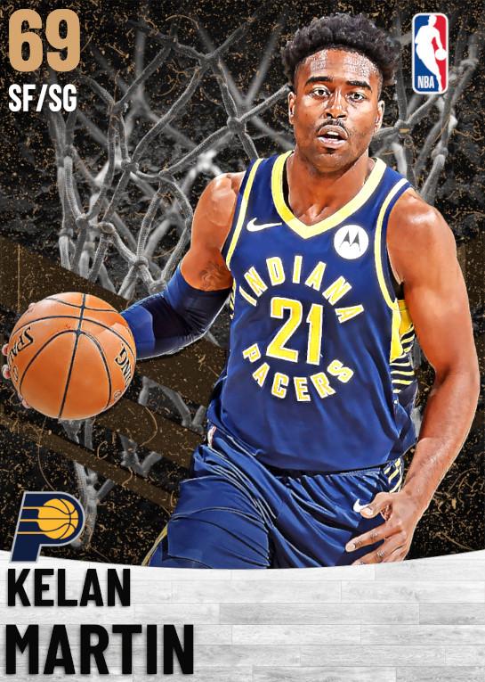 69 Kelan Martin   Indiana Pacers