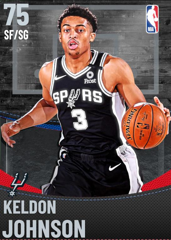 75 Keldon Johnson | San Antonio Spurs