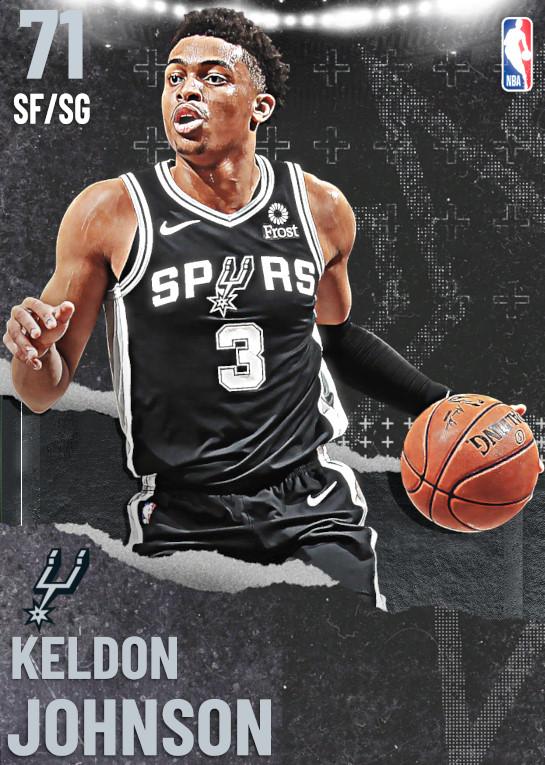 71 Keldon Johnson   undefined