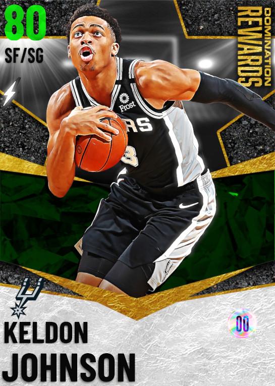 80 Keldon Johnson   Domination Rewards