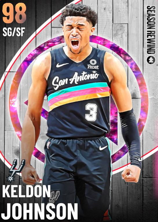 98 Keldon Johnson   undefined