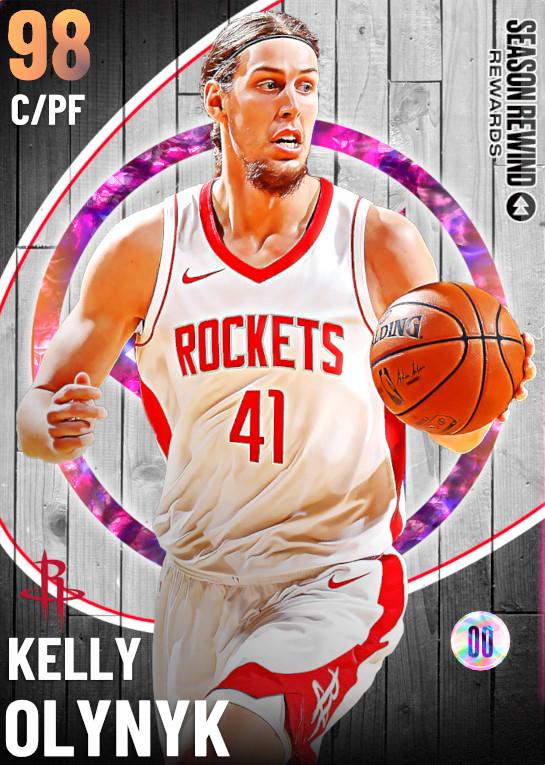 98 Kelly Olynyk   Season Rewind Reward
