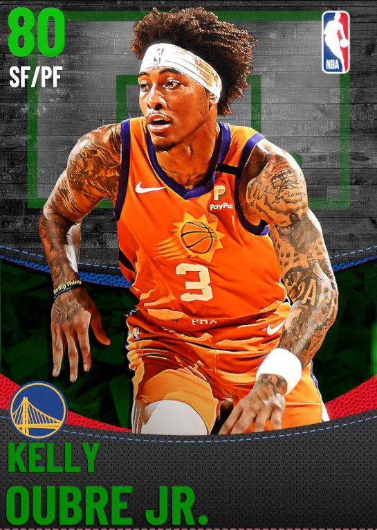 80 Kelly Oubre Jr. | Golden State Warriors