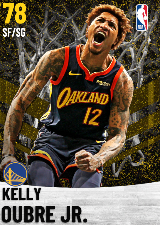 78 Kelly Oubre Jr.   Golden State Warriors