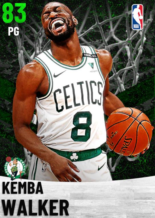 83 Kemba Walker   Boston Celtics