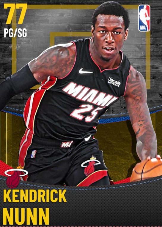 77 Kendrick Nunn | Miami Heat