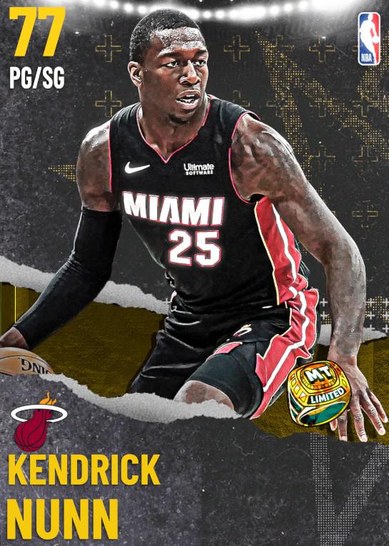 77 Kendrick Nunn   Miami Heat