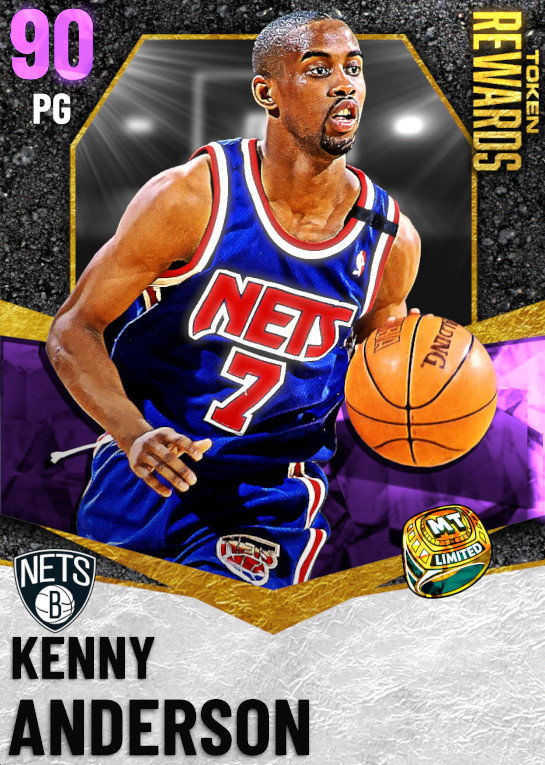 90 Kenny Anderson | undefined