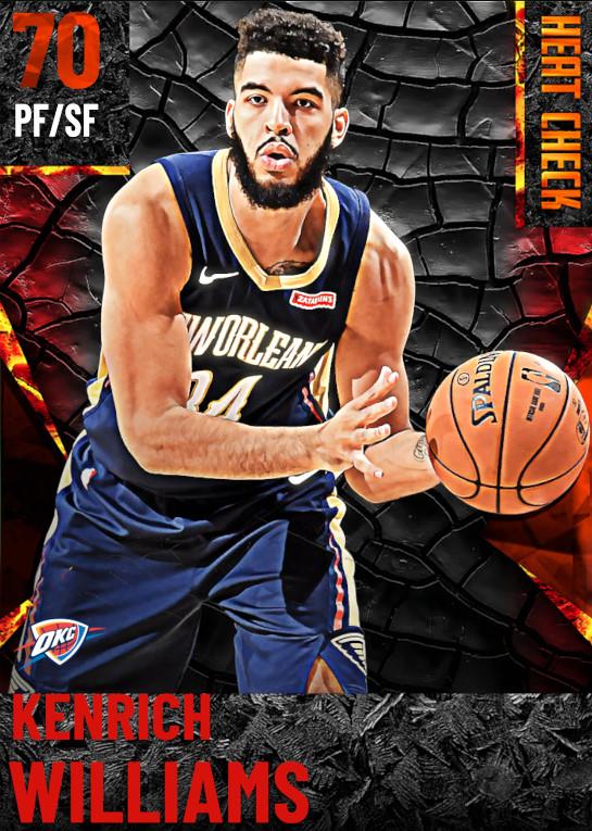 70 Kenrich Williams | Oklahoma City Thunder