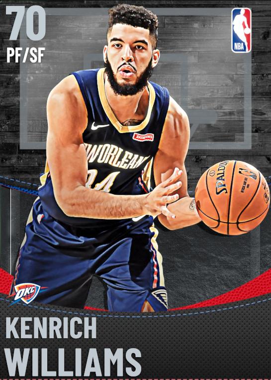 70 Kenrich Williams | undefined