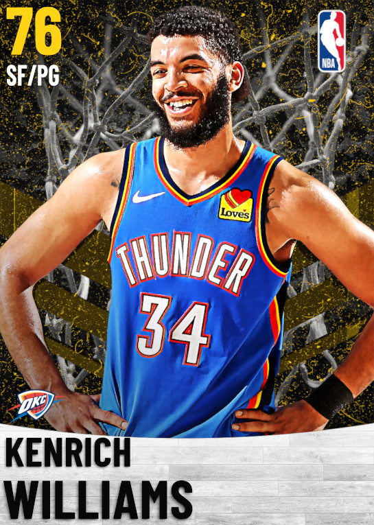 76 Kenrich Williams   Oklahoma City Thunder