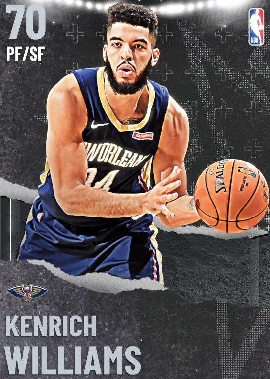 70 Kenrich Williams   undefined