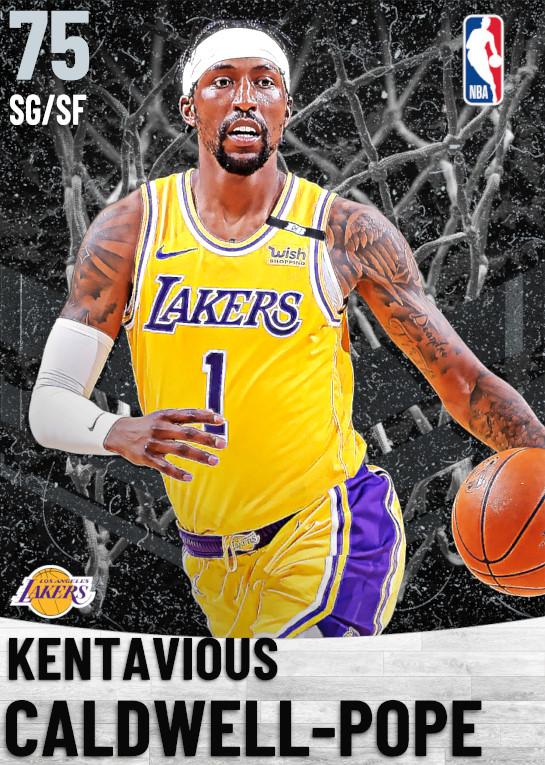 75 Kentavious Caldwell-Pope   Los Angeles Lakers