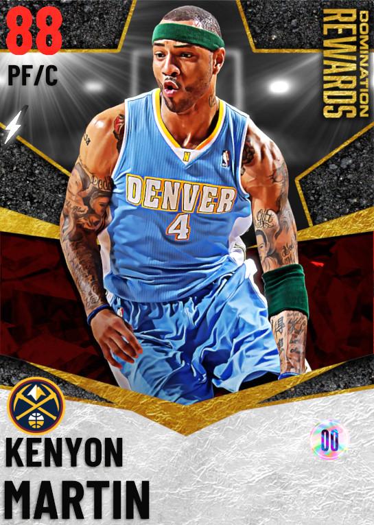 88 Kenyon Martin   Domination Rewards
