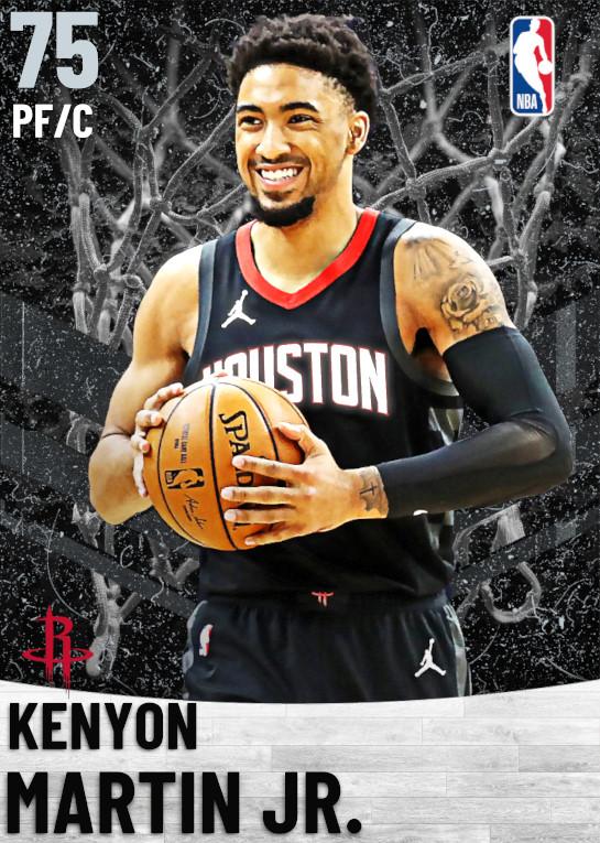75 Kenyon Martin Jr.   Houston Rockets