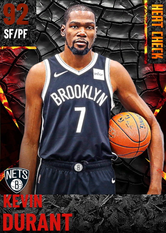 92 Kevin Durant | Brooklyn Nets