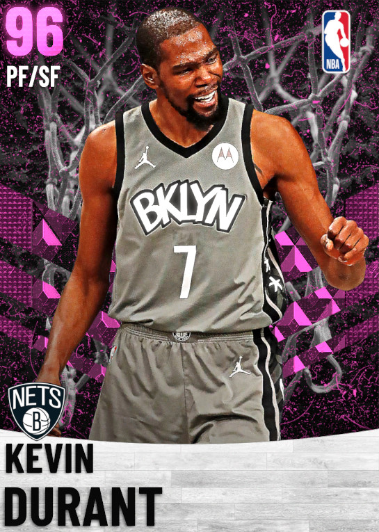 96 Kevin Durant   Brooklyn Nets