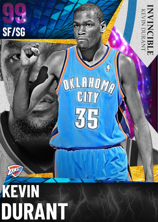 99 Kevin Durant   Invincible