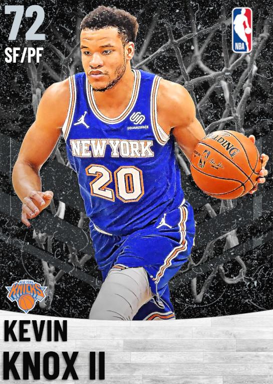 72 Kevin Knox II   New York Knicks