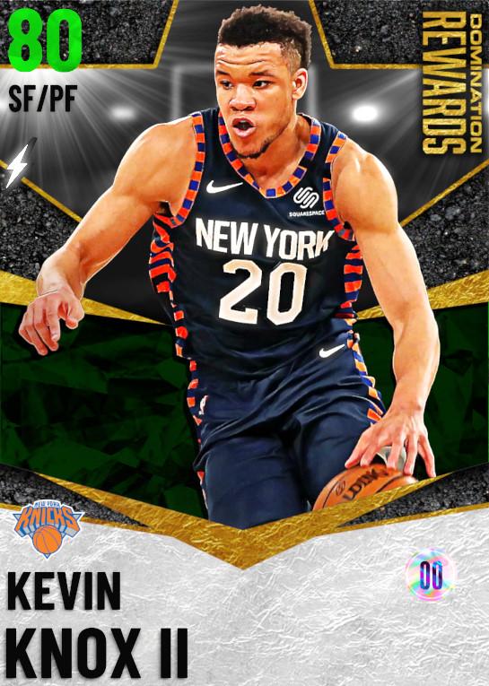 80 Kevin Knox II   Domination Rewards